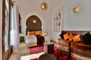 Riad Aya à Marrakech - Room Girofle