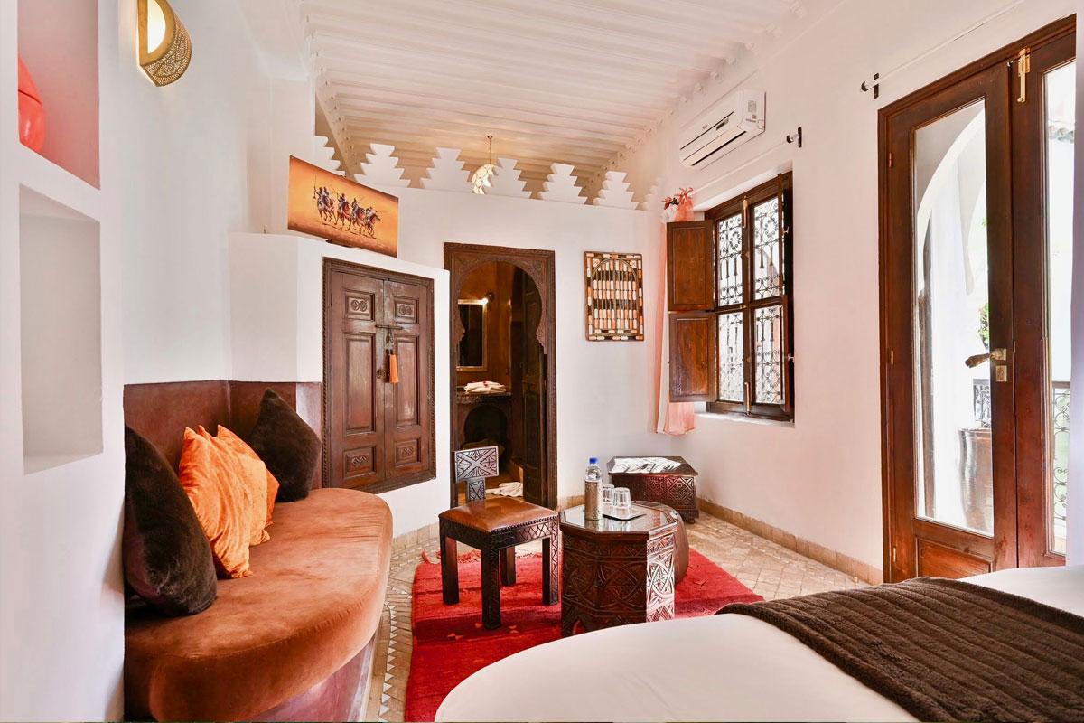 Riad Aya - Marrakech - Maroc - Chambre supérieure - Girofle