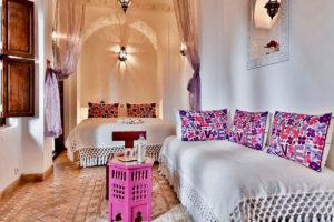 Riad Aya à Marrakech - Chambre Jasmin