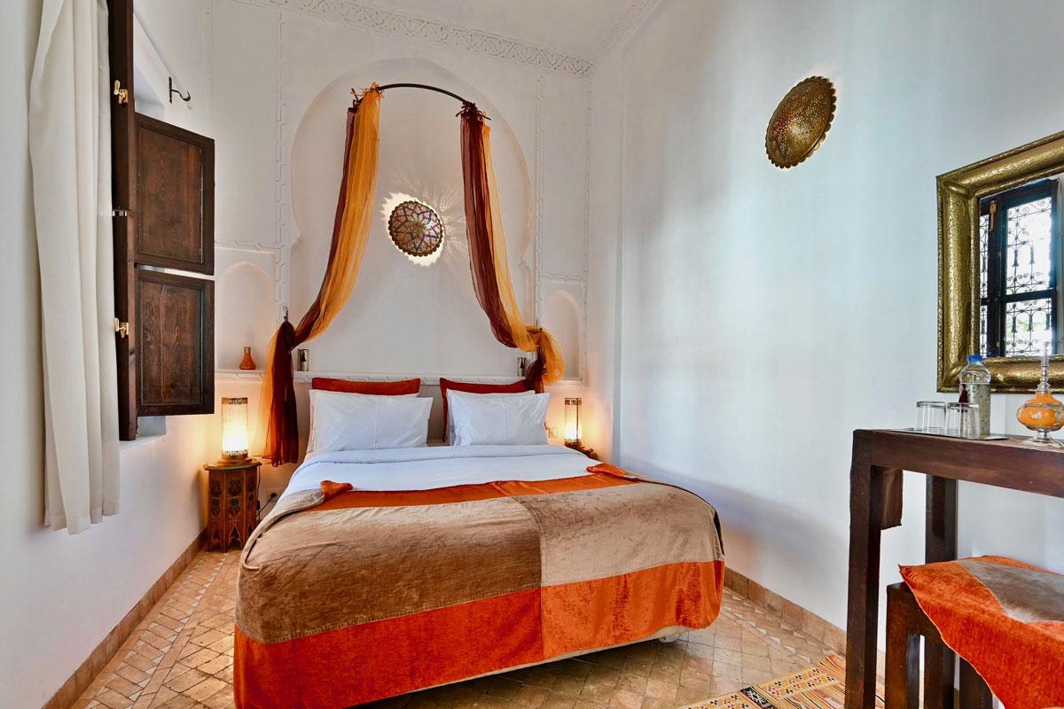 Chambres-Riad-Aya-MaRiad Aya - Marrakech - Maroc - Chambre familiale - Riad Aya - Marrakech - Maroc - Chambre familiale - Muscade