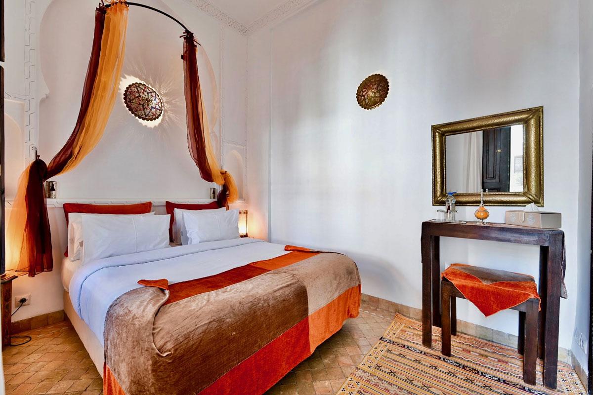 Riad Aya - Marrakech - Maroc - Chambre standard - Muscade