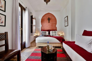 Riad Aya à Marrakech - Chambre Paprika