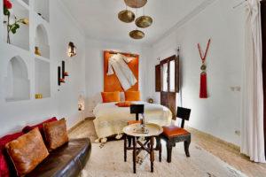 Riad Aya à Marrakech - Chambre Safran