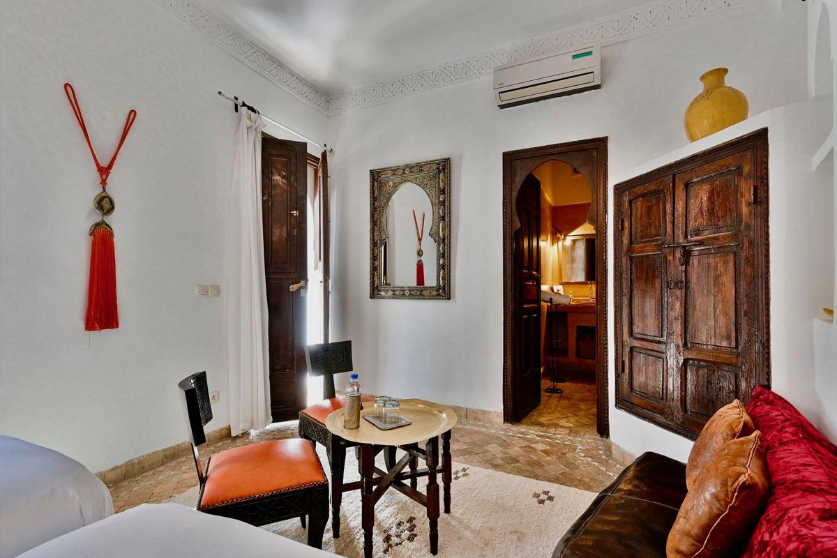 Riad Aya - Marrakech - Maroc - Chambre supérieure - Safran