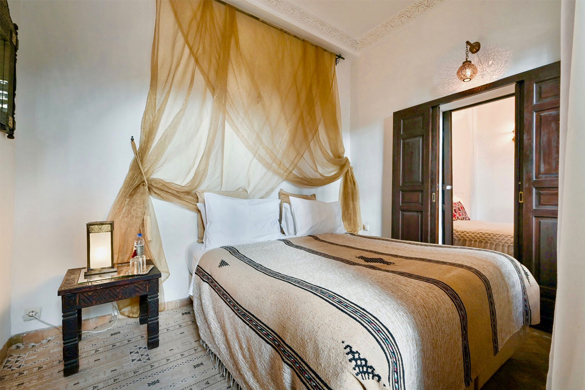 Riad Aya - Marrakech - Maroc - Chambre familiale - Sésame