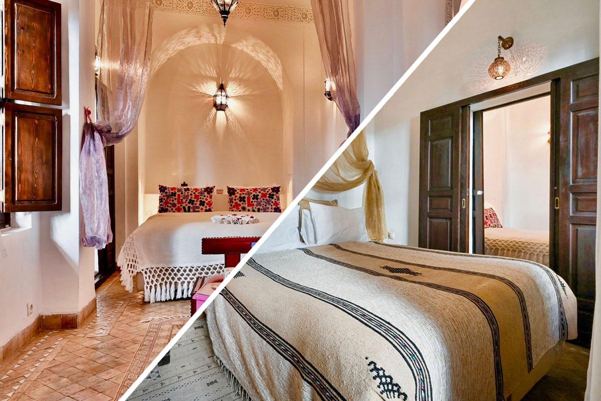 Riad Aya - Marrakech - Maroc - Chambre familiale - suite