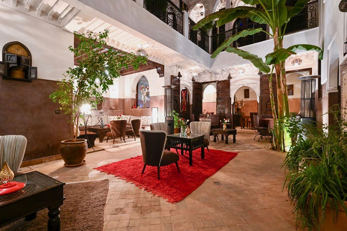 Riad Aya - Marrakech - Maroc - La Patio