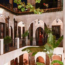 Riad Aya - Marrakech - Maroc - Coursive