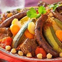 Riad Aya - Marrakech - Couscous Marocain