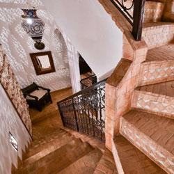 Riad Aya - Marrakech - Maroc - Escalier
