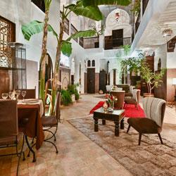 Riad Aya - Marrakech - Maroc - Patio
