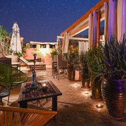 Riad Aya - Marrakech - Maroc - Terrasse